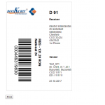 AWB Bookurier Shipping Label Module