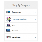 Shop By Category Module (OCMOD)