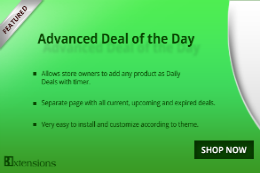 Advanced Deal of the Day