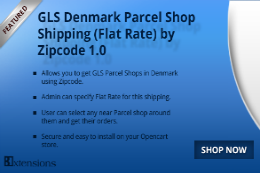GLS Denmark Shipping Flat Rate