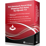 GLS Denmark Parcel Shop Shipping (Flat Rate) by Zipcode 1.0