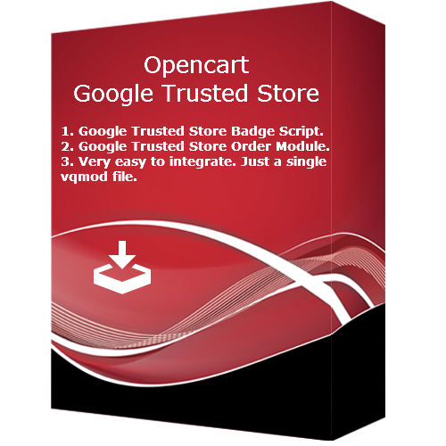 Opencart Google Trusted Store (VQMOD)