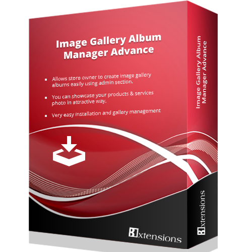 Image Gallery Album Manager Advance