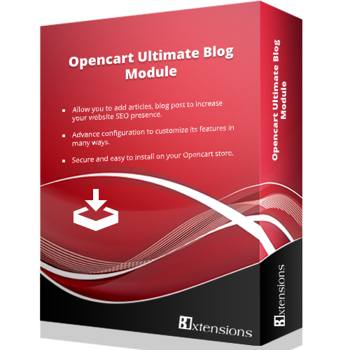 Ultimate Blog Module (OCMOD)
