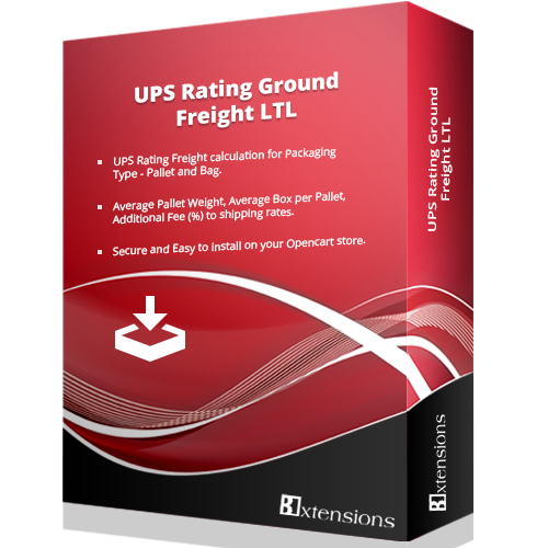 UPS Rating Ground Freight LTL